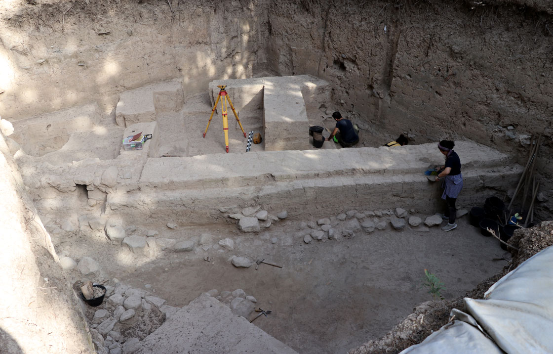 Mukiş Krallığı başkenti Alalah Aççana höyük kazıları