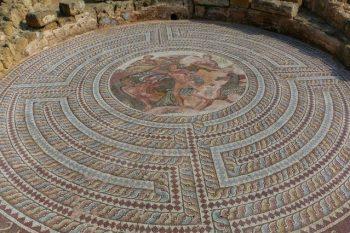Kıbrıs'ta muhteşem bir antik mozaik bulundu