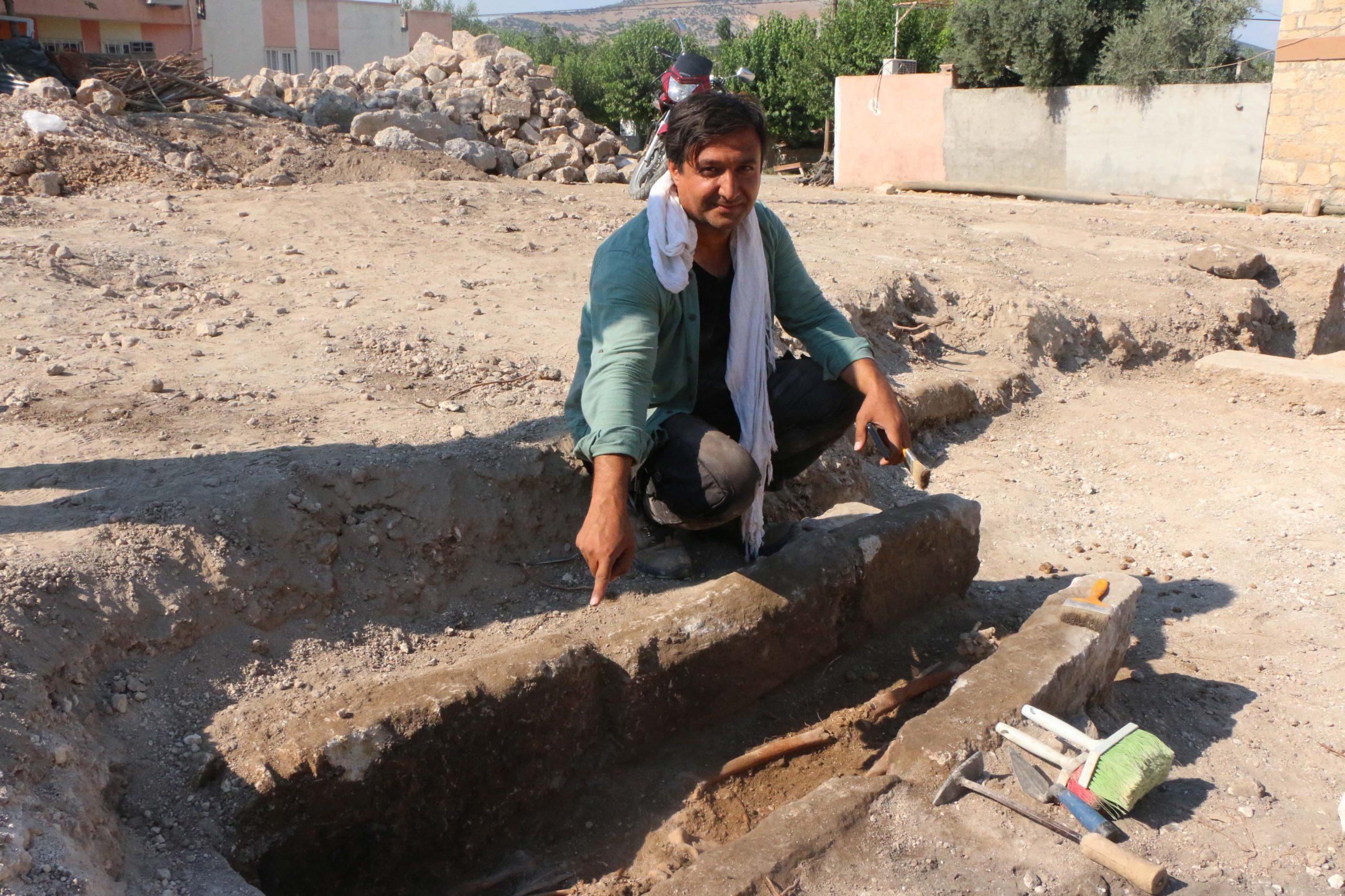 Perre Antik Kenti kazı çalışmaları