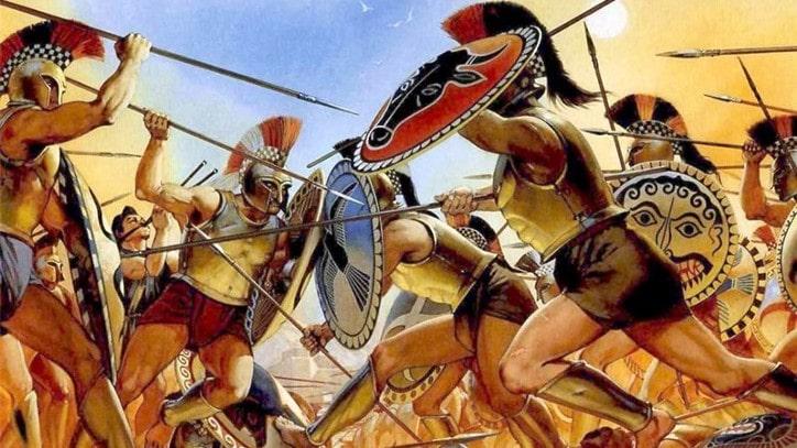 Thebes'in eşcinsel kutsal askeri birliği
