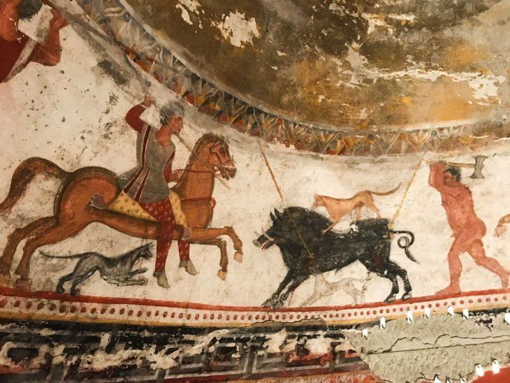 Aleksandrovo Trak Kral Mezarı duvar resimleri