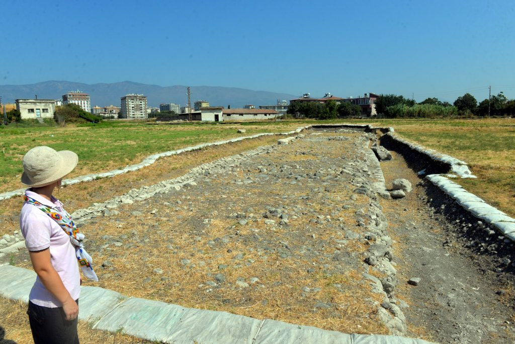 Antakya'da bulunan antik hipodrom Arkeo Spor kompleksi olacak