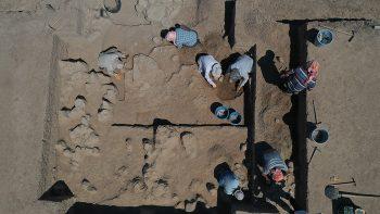 Aydın Tepecik Höyük Kazıları Fotoğraf AA