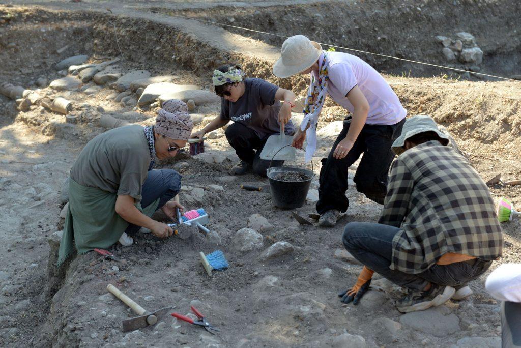 Ben-Hur filmine konu olan hipodrom kazısında temeller ortaya çıkarılıyor. Fotoğraf DHA