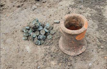 Phanagoria'da bakır stater olarak bilinen madeni sikke