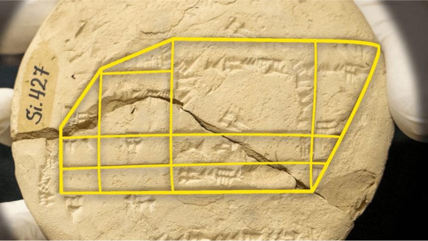 Pisagor üçlülerinin bilinen en eski örneğine sahip Fotoğraf (UNSW)