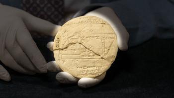 Tarihin en eski kadastro çiziminin olduğu tablet