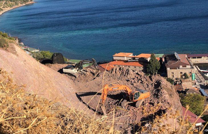 Assos antik limanında ıslah çalışmaları yargıya taşındı