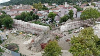 Çatalca Kaleiçi Tarihi Surları_Anastasios Surları