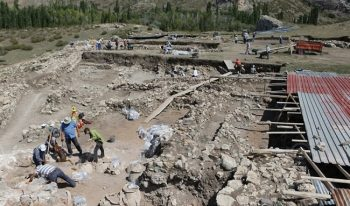 Hitit Başkenti Hattuşa kazılarında Hitit Mahallesi tamamen çıkarılmaya çalışılacak