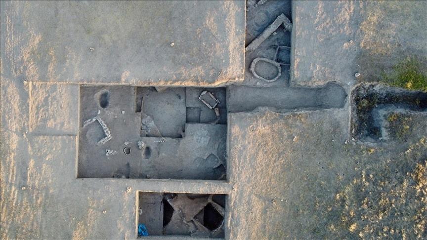 M.Ö. 2200 yılında Küllüoba Höyüğü'nde kuraklık yaşandığına dair buluntulara rastlandı. Foto: AA