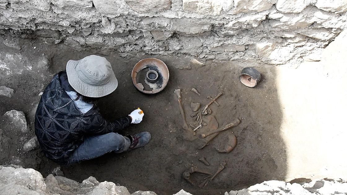 Satala Antik Kenti kazılarında Urartu bulgularına ulaşıldı. Fotoğraf AA