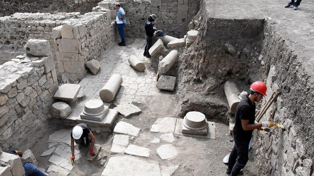 Satala Antik Kenti'nde Urartu İzleri