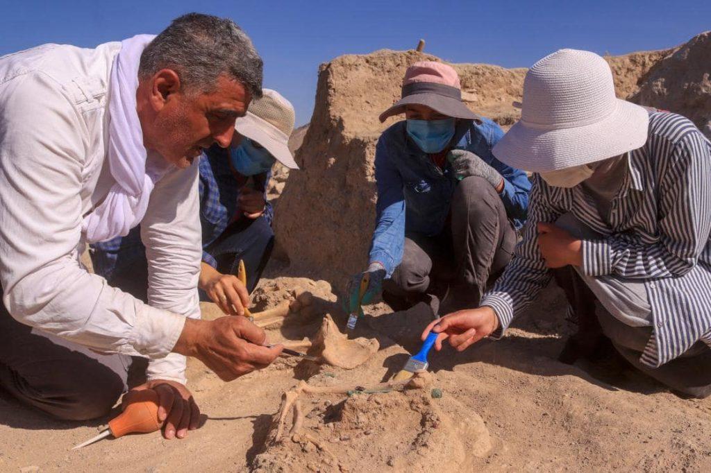 Urartulu kadın yöneticinin mezarı