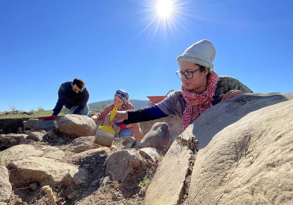 Akeramik Neolitik Çağ yerleşimi Kahin Tepe kazıları