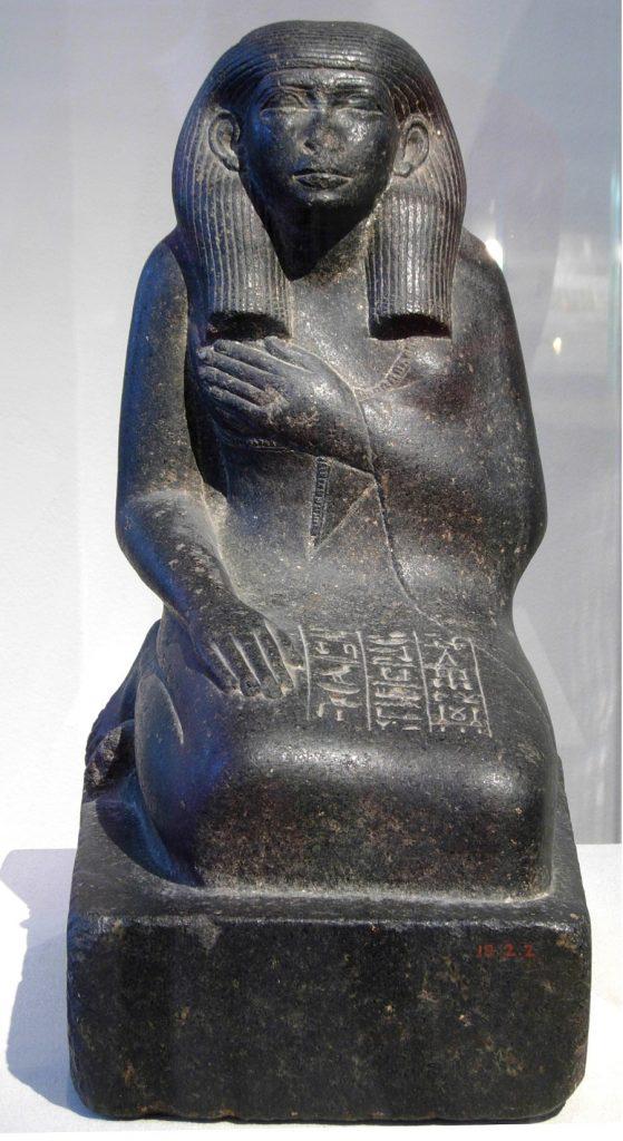 Mısırlı Hemşire Satsneferu Heykeli