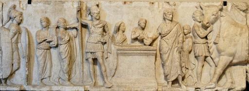 Roma dönemi altar