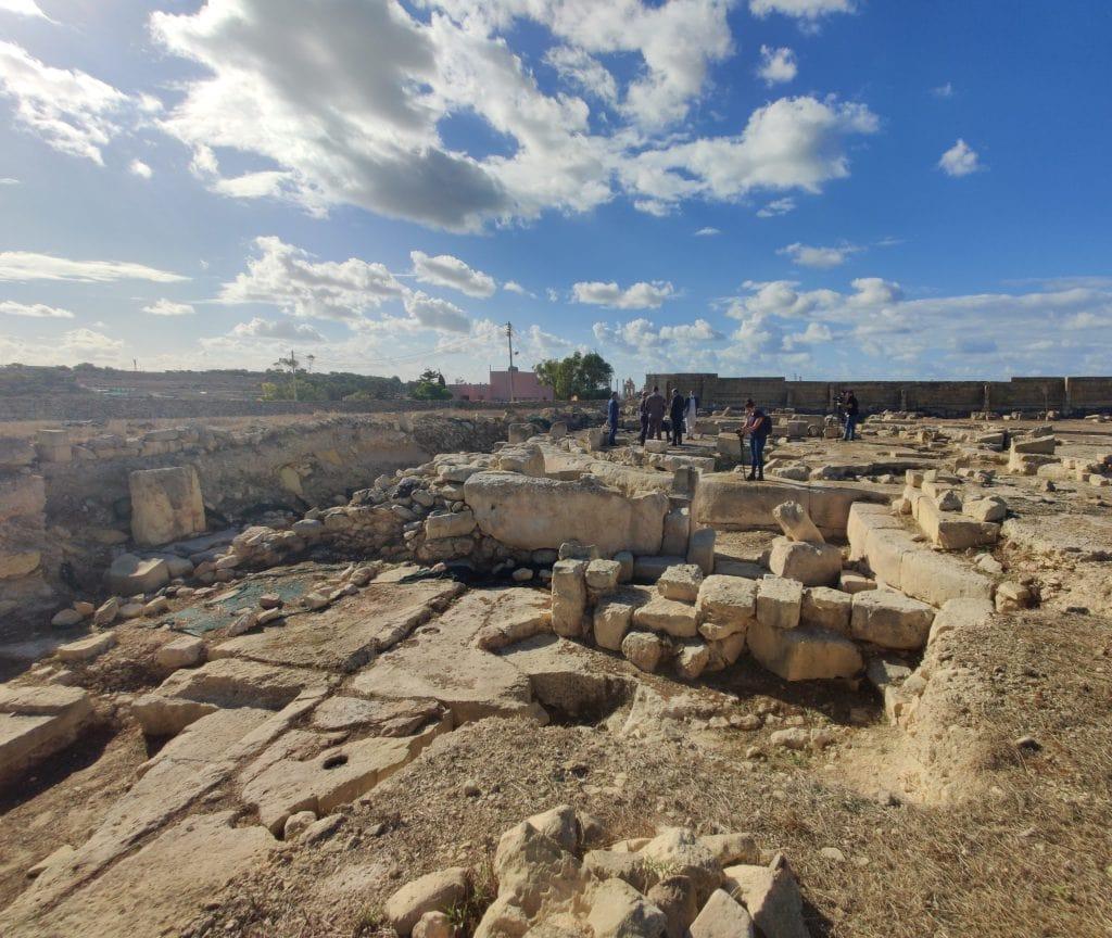 Taş-Silġ'de keşfedilen başka bir Neolitik yapının kalıntıları